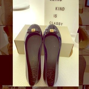 Tory Burch Jelly Flats Size 7,